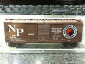 Micro Trains 22040 N-Scale 40' Standard Box Car with Plug & Sliding Door